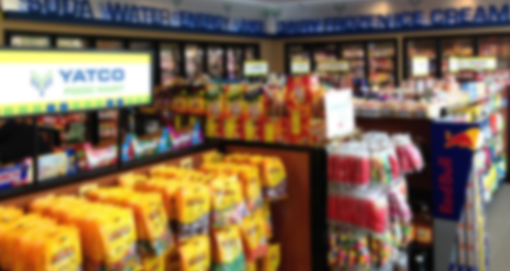 inside of convenience store, Yatco Food Mart store, in-store display Massachusetts, in-store display design MA, Yatco Food Mart MA