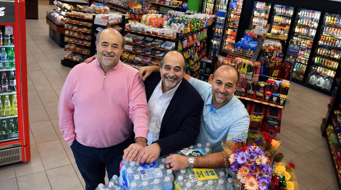 Yatim brothers in store, Massachusetts convenience store, convenience store MA, food mart MA